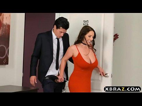 Auction of a huge tits milf who then gets double penetratedXXX Sex Videos 3gp