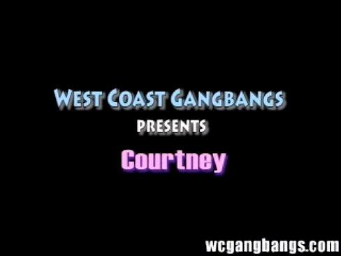 courtney hardcore gangbang