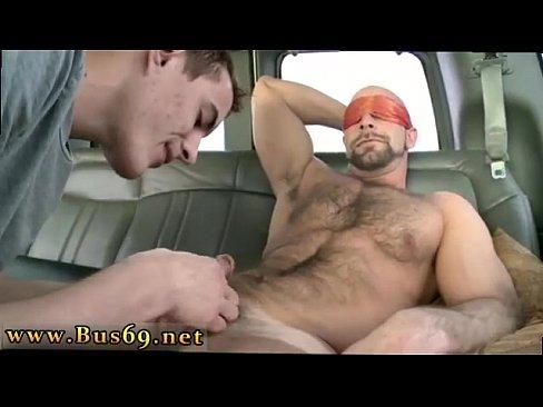 Gay man fuck in office
