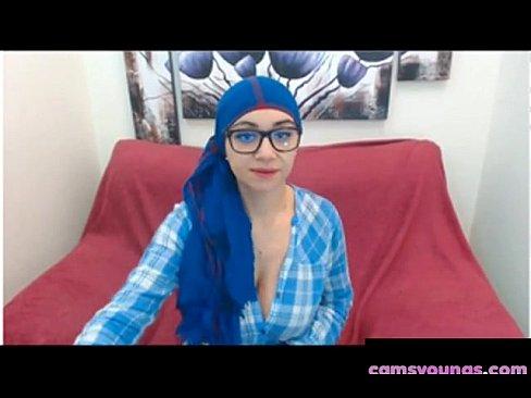 My Favorite Hijab in Blue, Free Webcam HD Porn e5