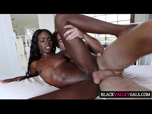 Half black half asian girl