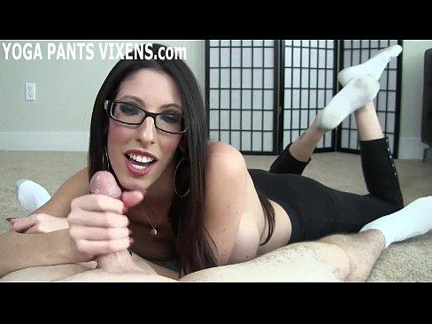 I offers you a hot handjob after I do my yoga JOI