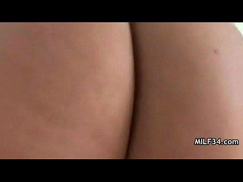 Very horny MILF